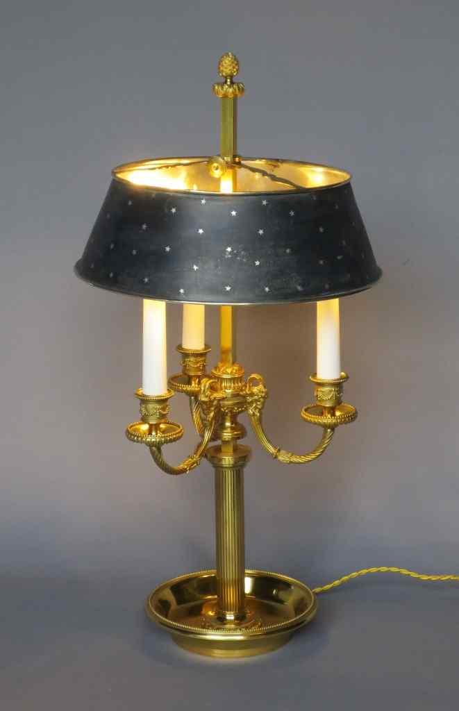 Lampada da tavolo in stile Luigi XVI  antiquariato su anticSwiss