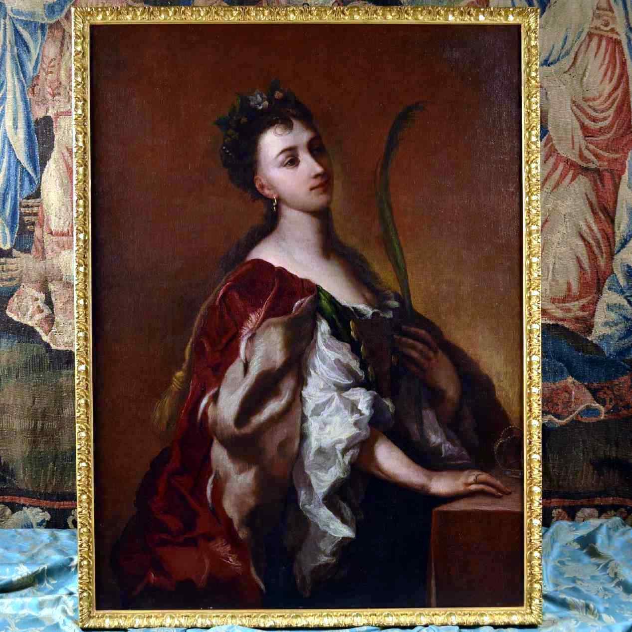 Ritratto di Santa Elisabetta d'Ungheria, XVIII secolo