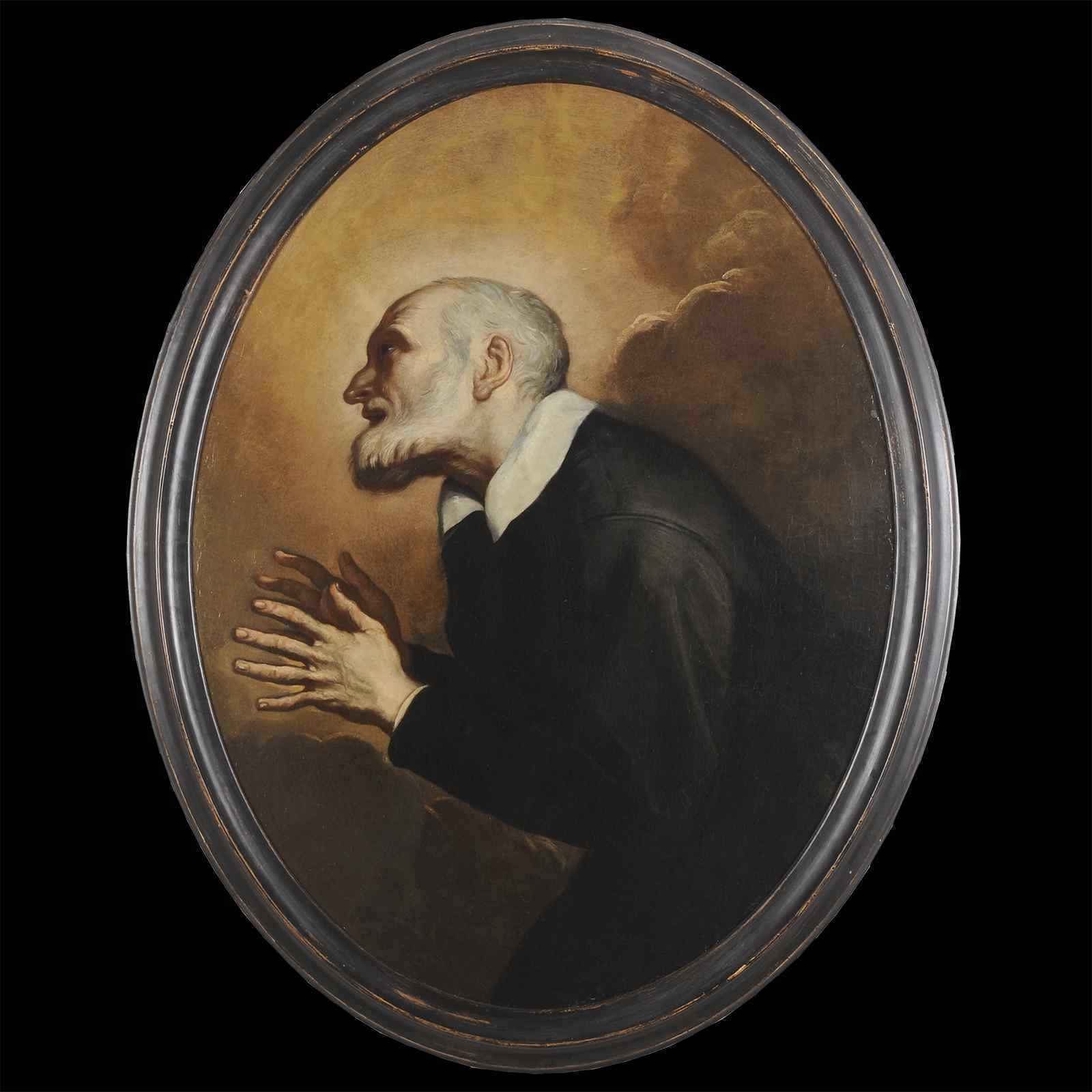 Ritratto di San Vincenzo da Paola, scuola francese