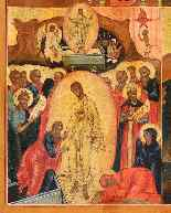 Russian Icon, Four Episodes drom Byzantine Liturgical Calend-2