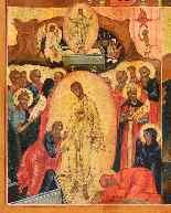 Icona raffigurante quattro episodi del calendario liturgico-2