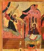 Russian Icon, Four Episodes drom Byzantine Liturgical Calend-1