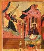 Icona raffigurante quattro episodi del calendario liturgico-1