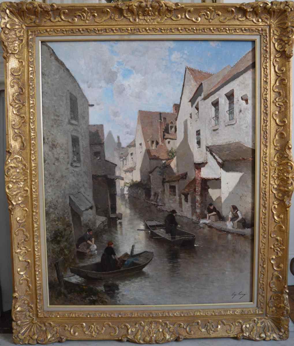 Quadro di Eugène Cicéri XIX secolo