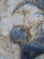 Grande murale tela dipinta, arredamento cinese-2