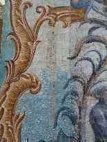 Grande murale tela dipinta, arredamento cinese-28