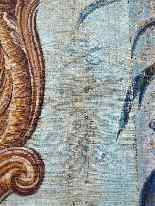 Grande murale tela dipinta, arredamento cinese-3