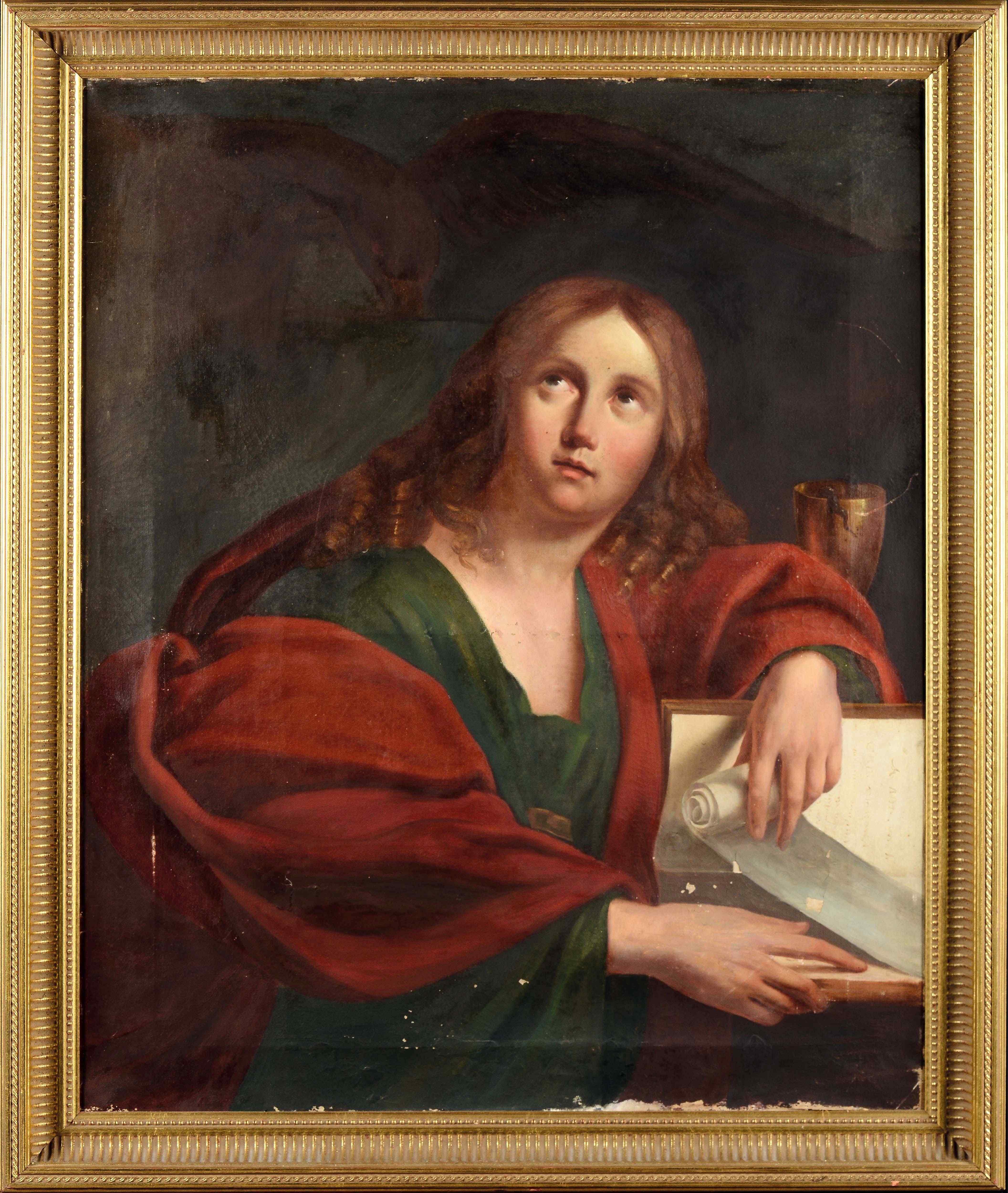 18th Century Bolognese School, Saint John The Evangelist