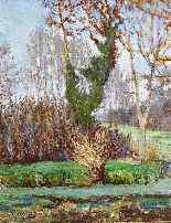René HERISSON 1857-1940 Bords De Charente Huile 1924 Post-im-1