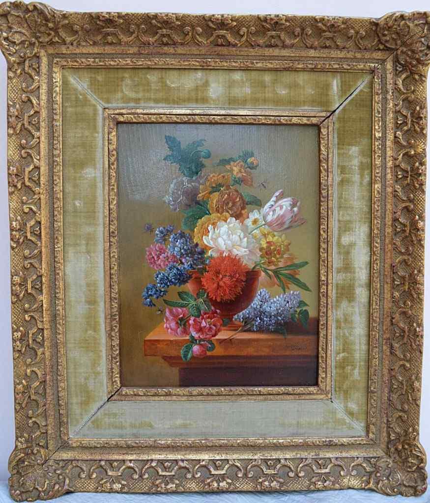 Картина Питера Faes (1750-1814). Букет цветов.