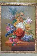 Картина Питера Faes (1750-1814). Букет цветов.-5