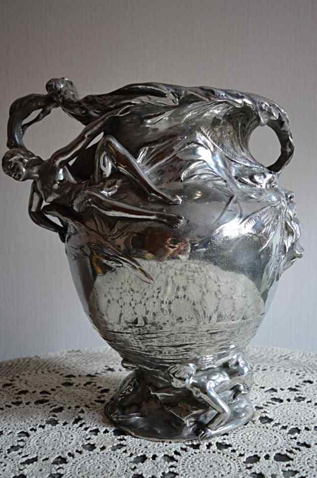 Vase Art Nouveau Henri Plé.
