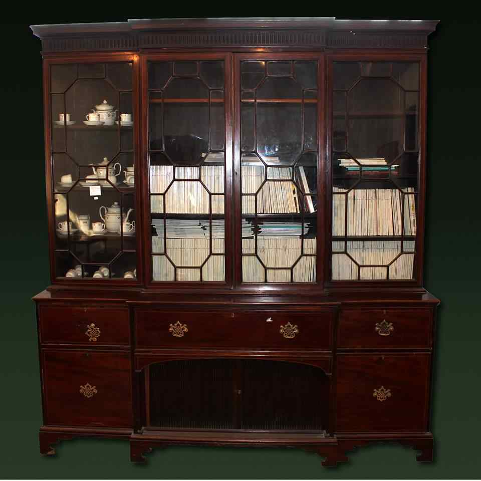bibliothèque ancienne du XIXe siècle