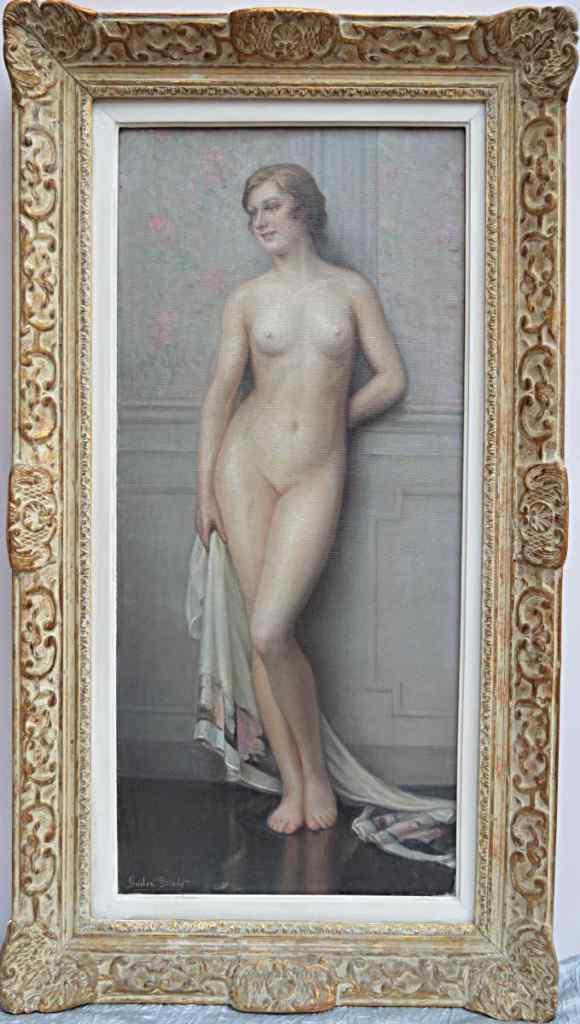 Gaston Edouard Guédy (1874-1955). Prima del bagno.