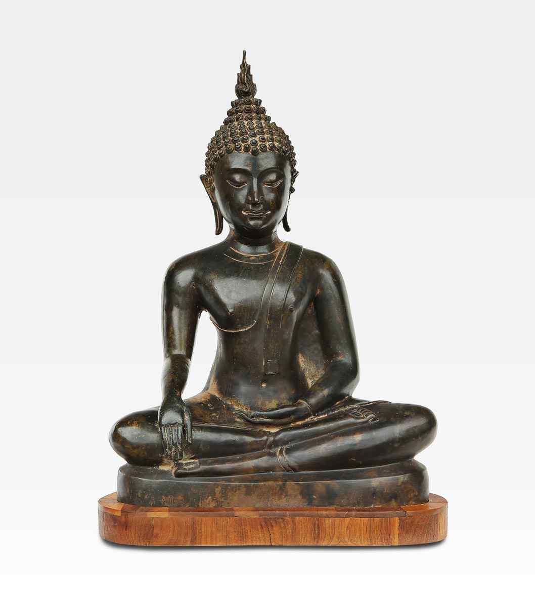 Bronzo, Gautama Buddha, Thailandia