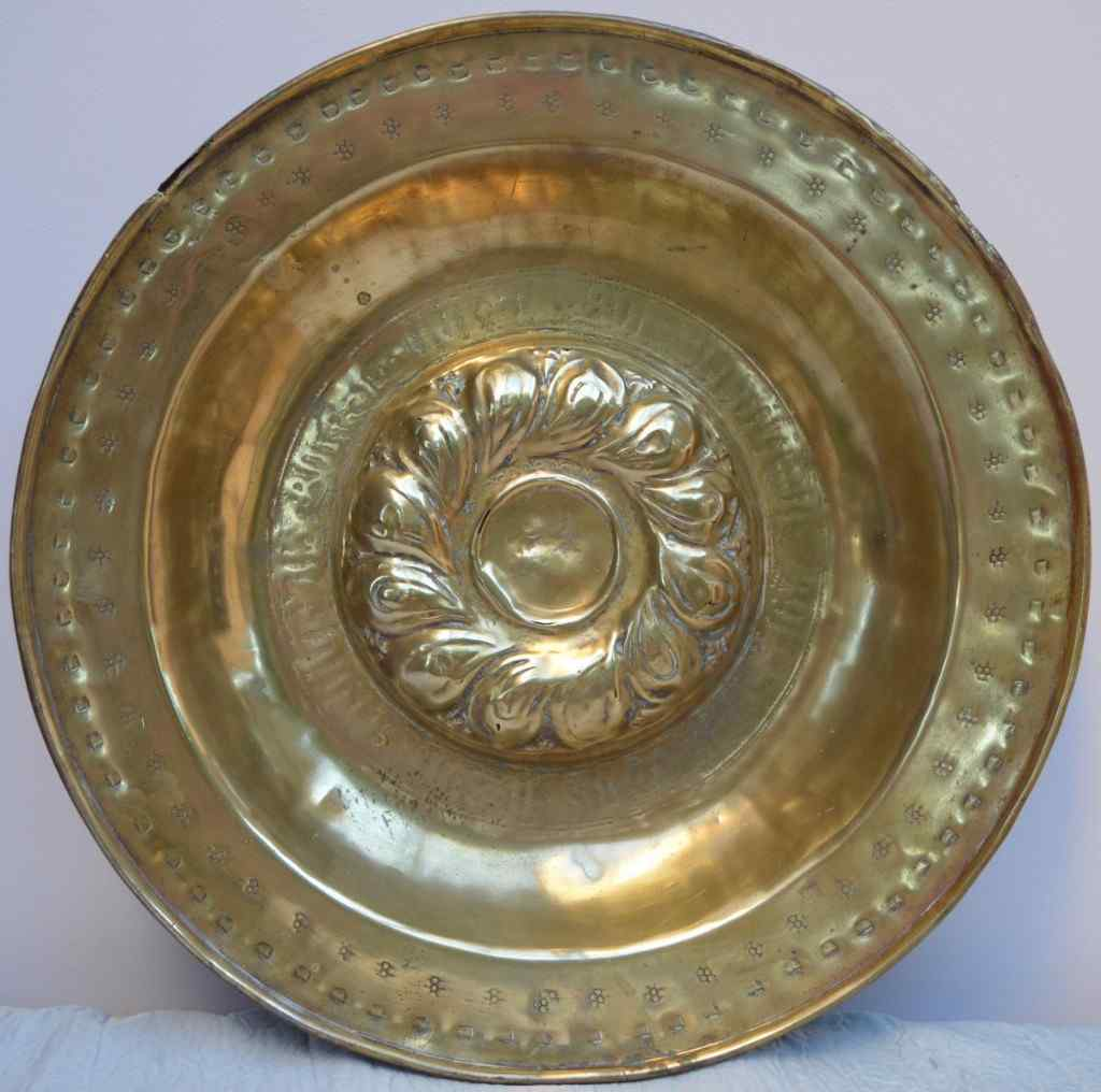 Offering or questing dish From Nuremberg.