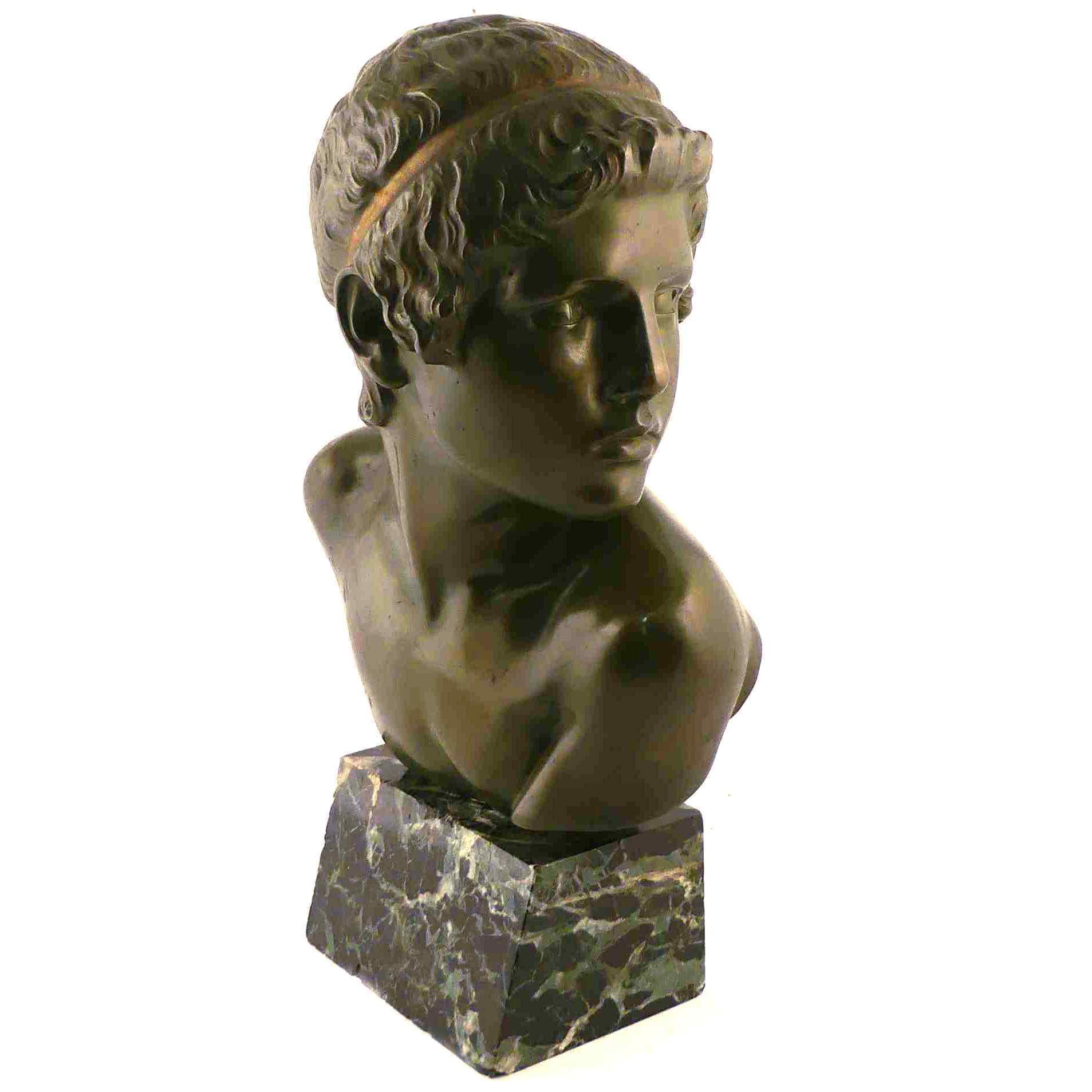 Bronzo antico inizio 1900, firmato Constantin Roux