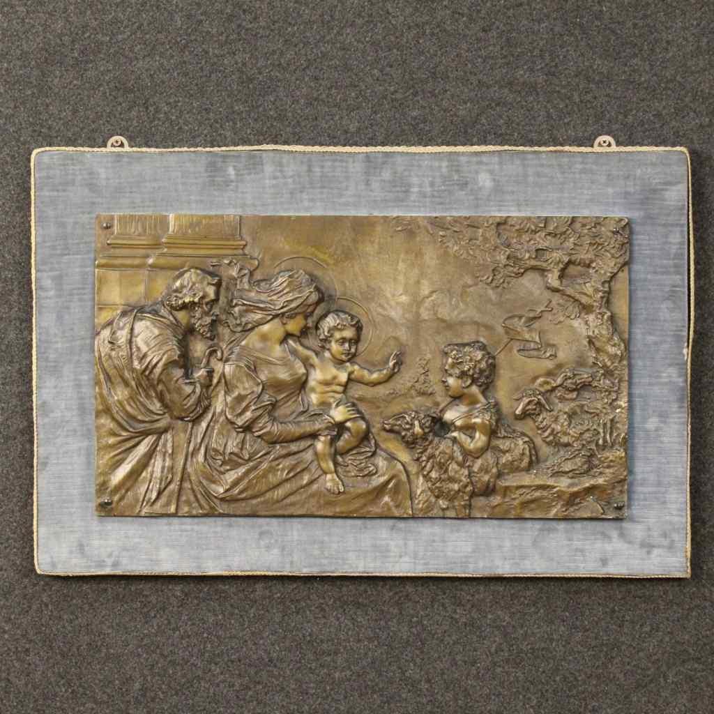 религиозные рельеф из бронзы в начале ХХ века