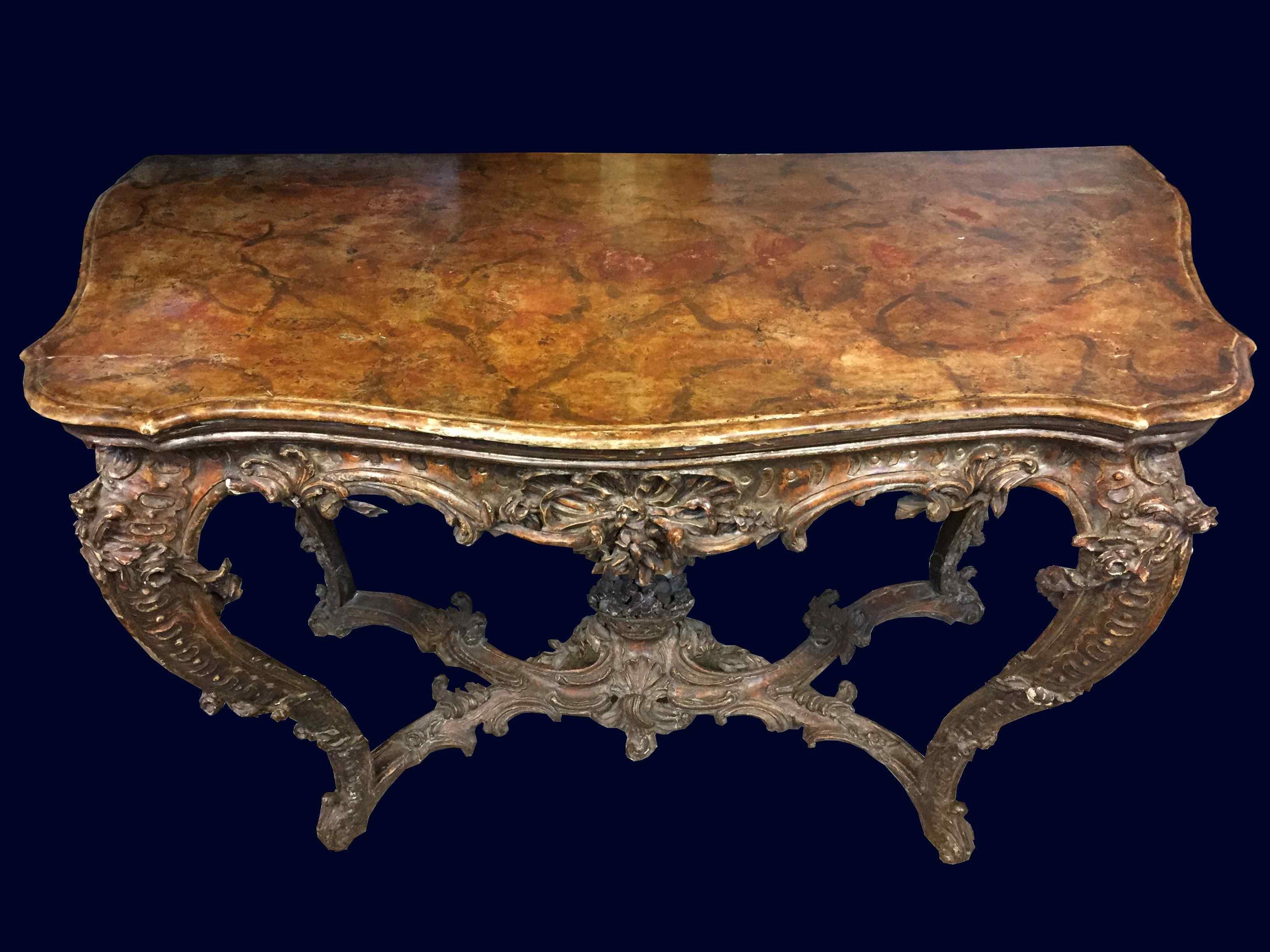 Console Piemonte del XVIII secolo