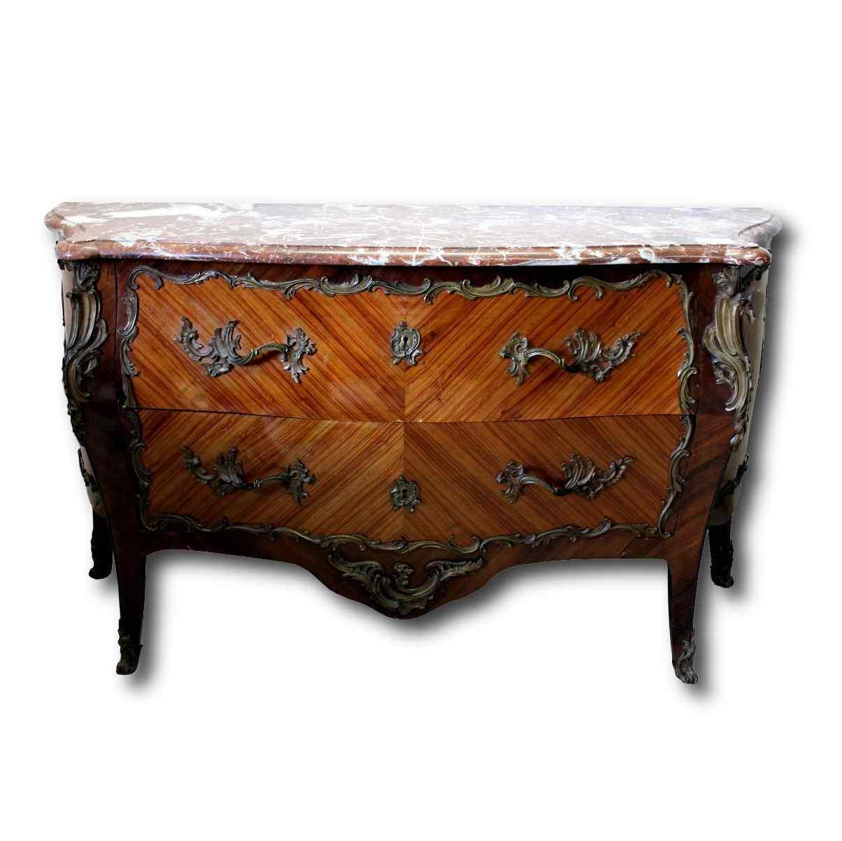 ancient nineteenth century dresser