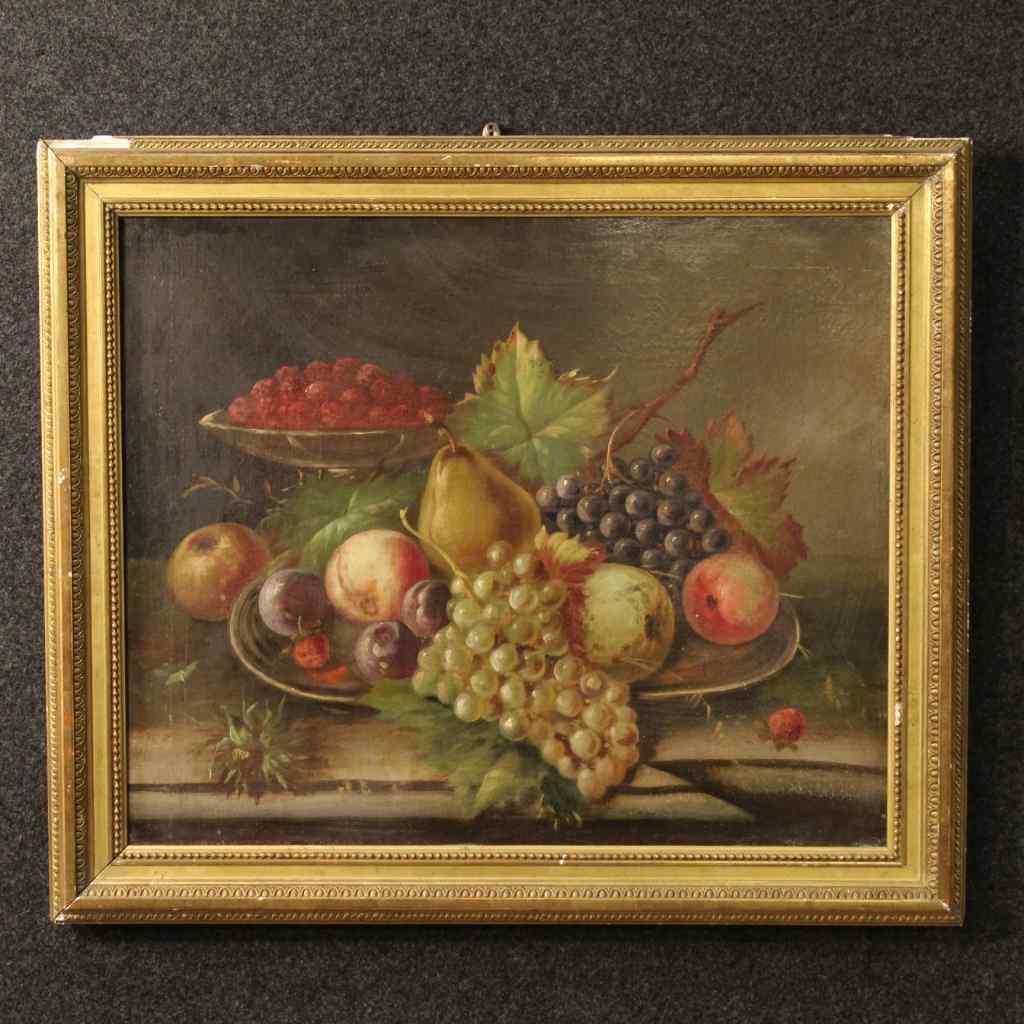 Quadro natura morta - Francia - XIX secolo