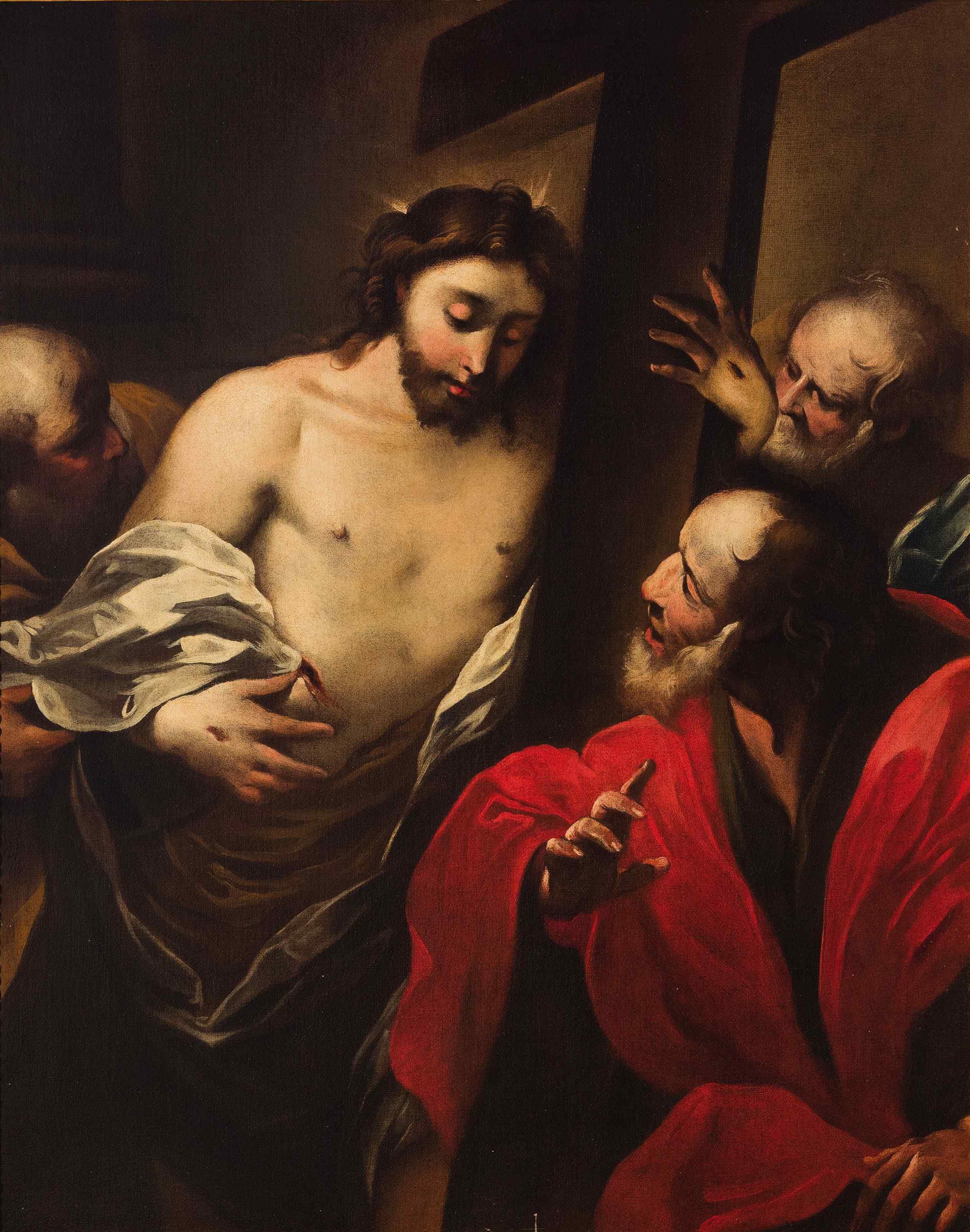 Valerio Castello (1624 - 1659), L'incredulità di S. Tommmaso