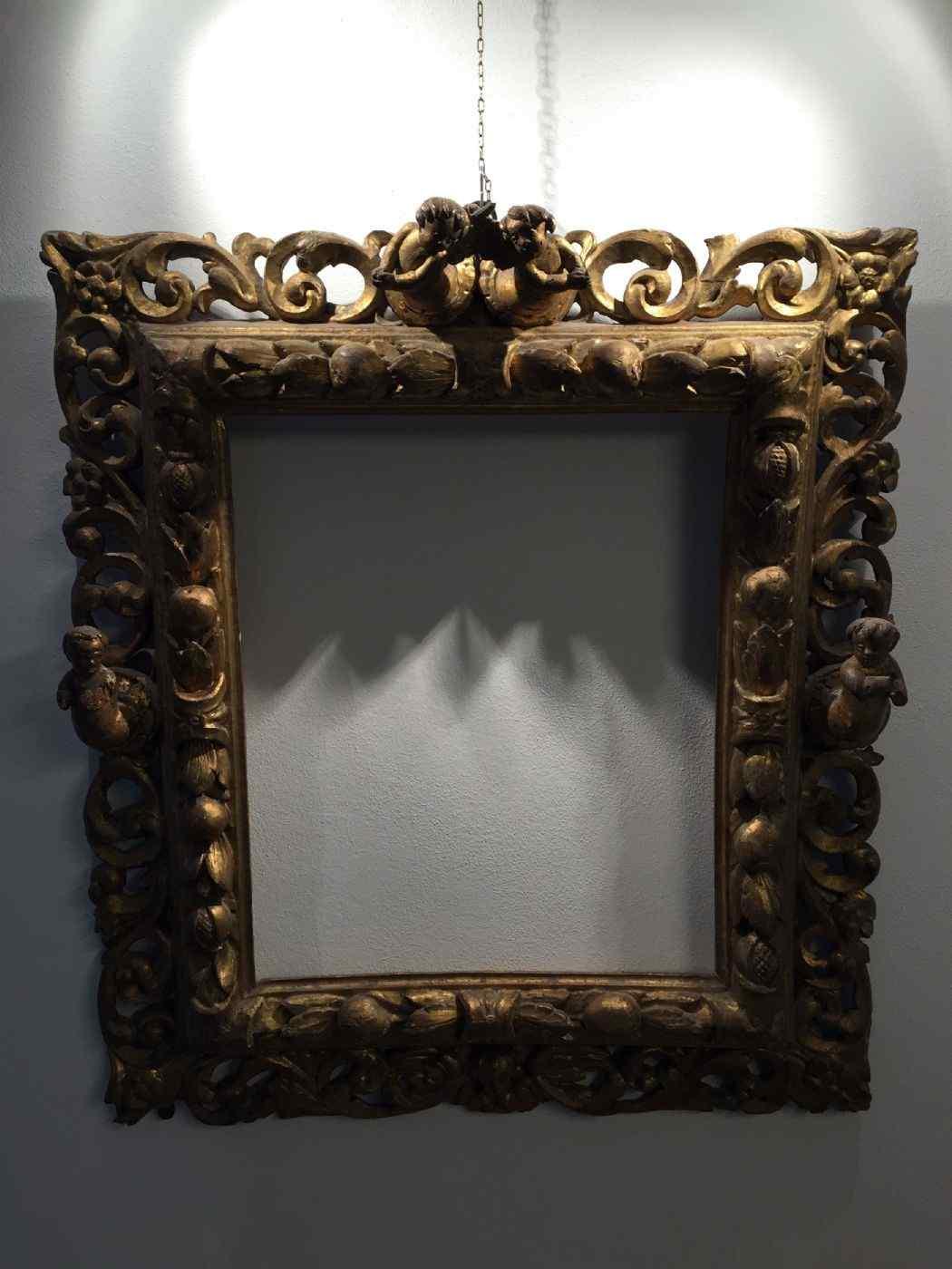 Importante Cornice dorata, del XVI secolo , Piemonte.