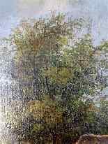 Scena pastorale, quadro scuola francese 18° secolo-8