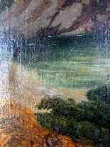 Scena pastorale, quadro scuola francese 18° secolo-1