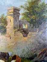 Scena pastorale, quadro scuola francese 18° secolo-2