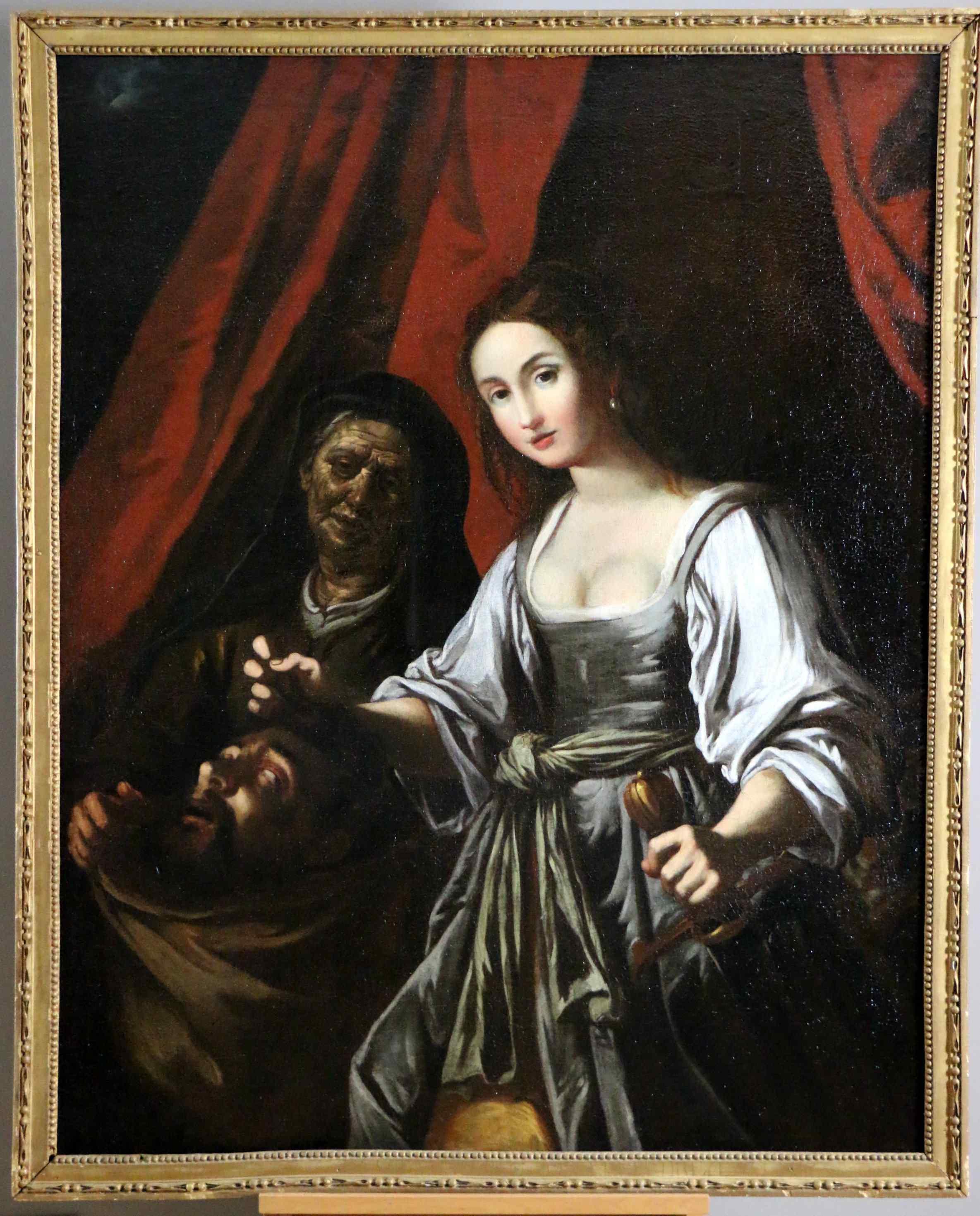 Quadro antico, scuola del Caravaggio - XVII secolo