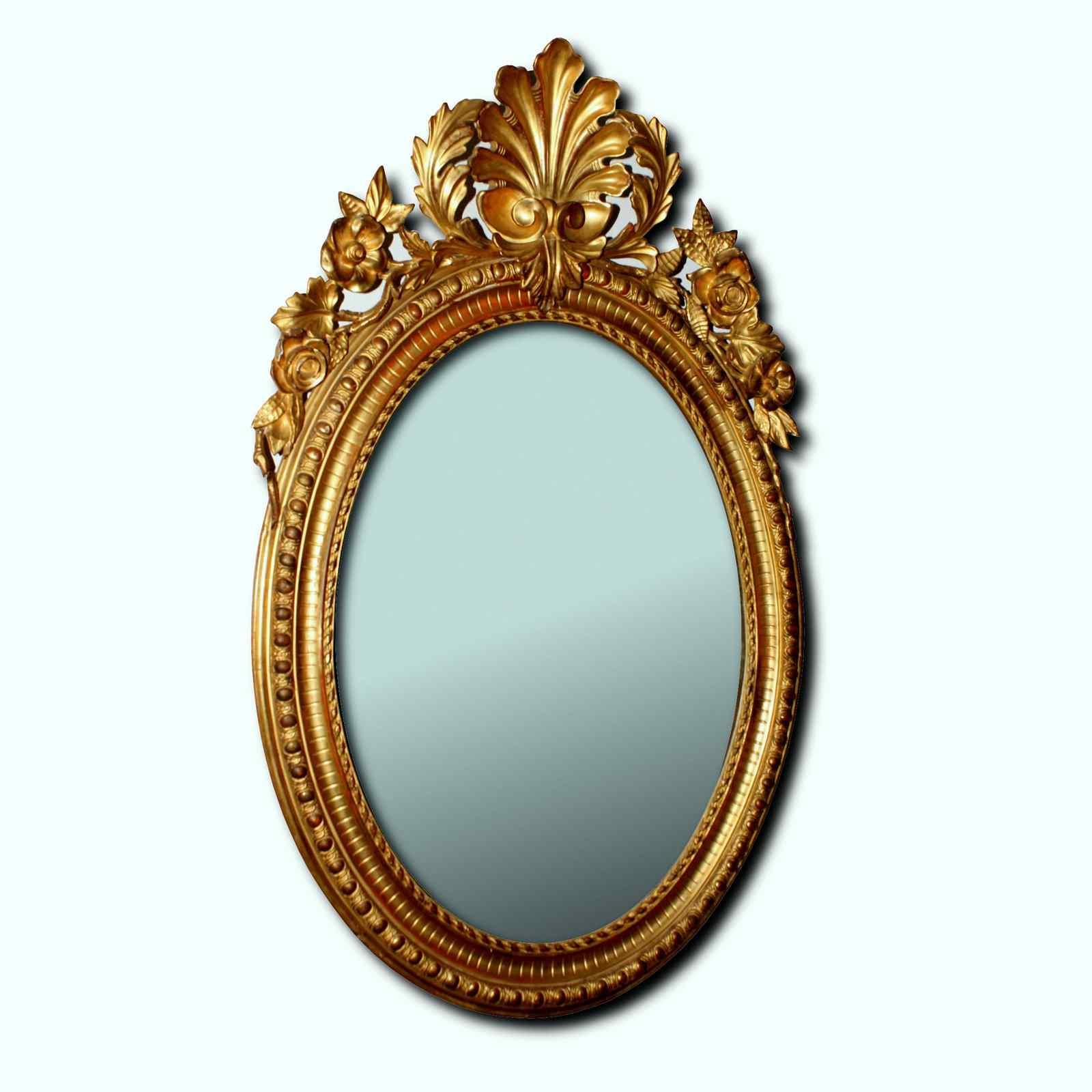 Miroir ancien du XIXème siècle