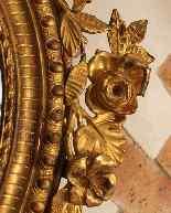 Specchiera antica del 19° secolo-3