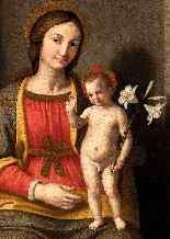 Giovanni Battista Salvi (1609-1685), Vergine in trono-2