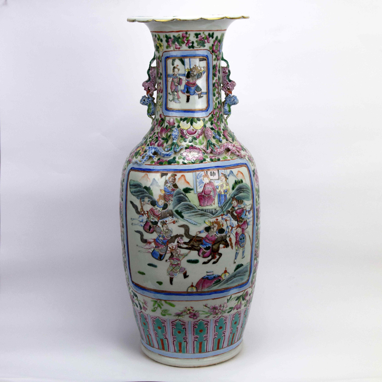 Grande vaso cinese