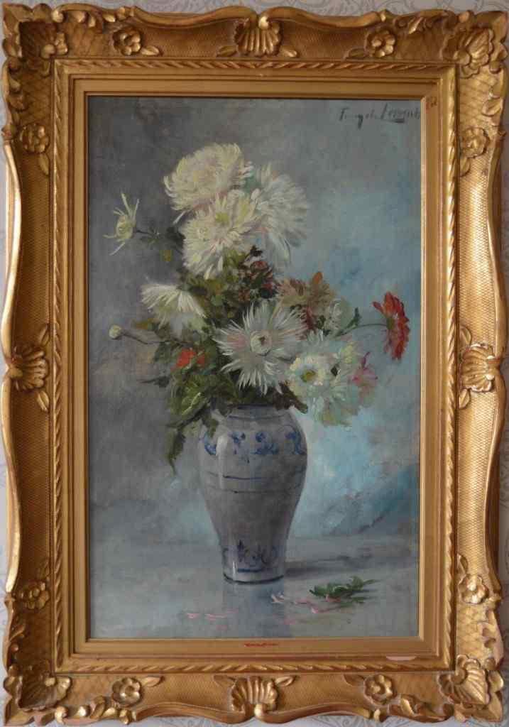 Dipinto floreale - Albert De Tibule Furcy Lavault