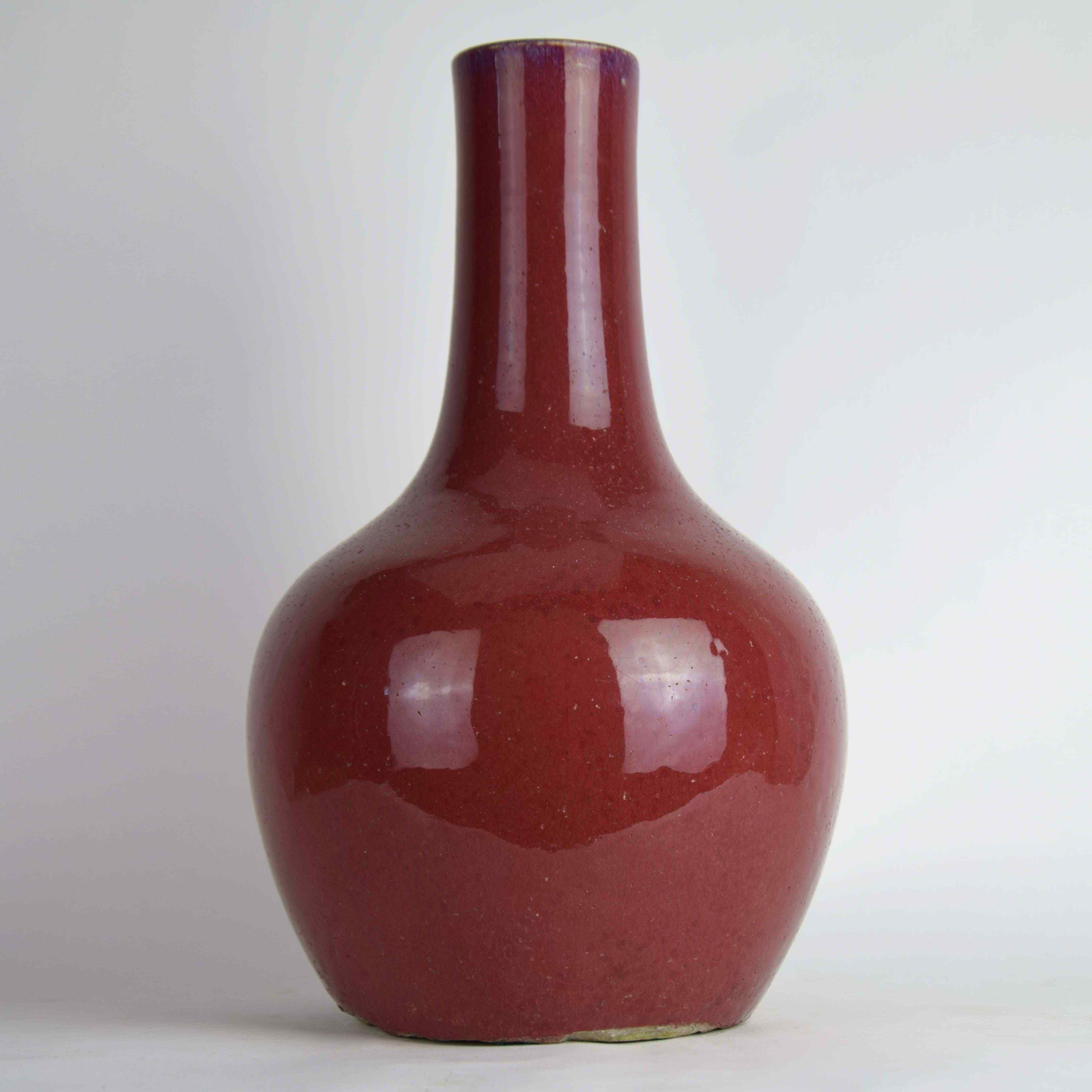Antico vaso sangue di bue XVII° secolo