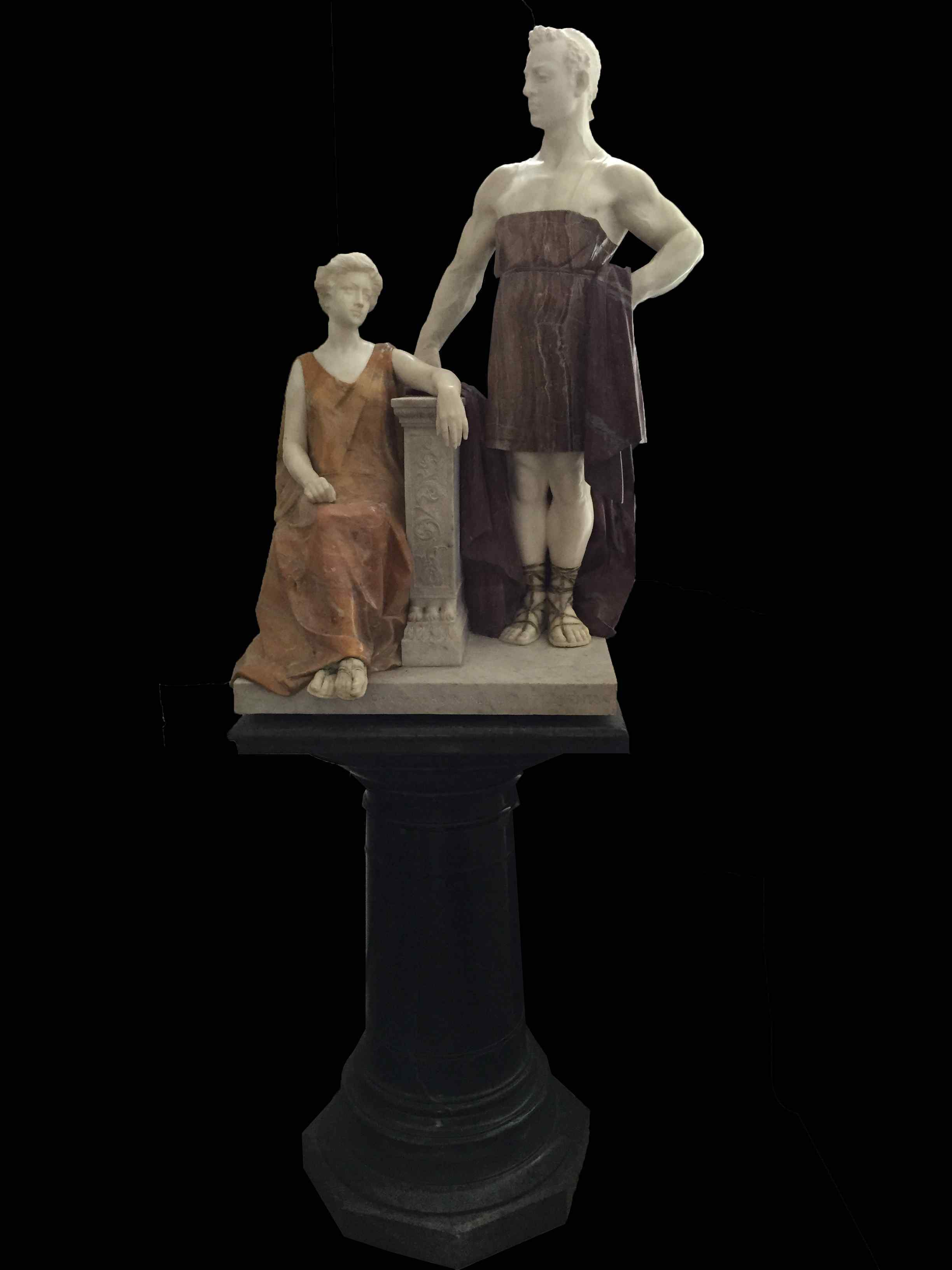 Scultura in marmo - Ferdinando Vichi