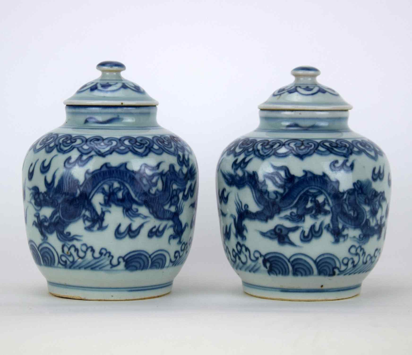 Coppia di vasi cinesi antichi anticswiss for Vasi antichi