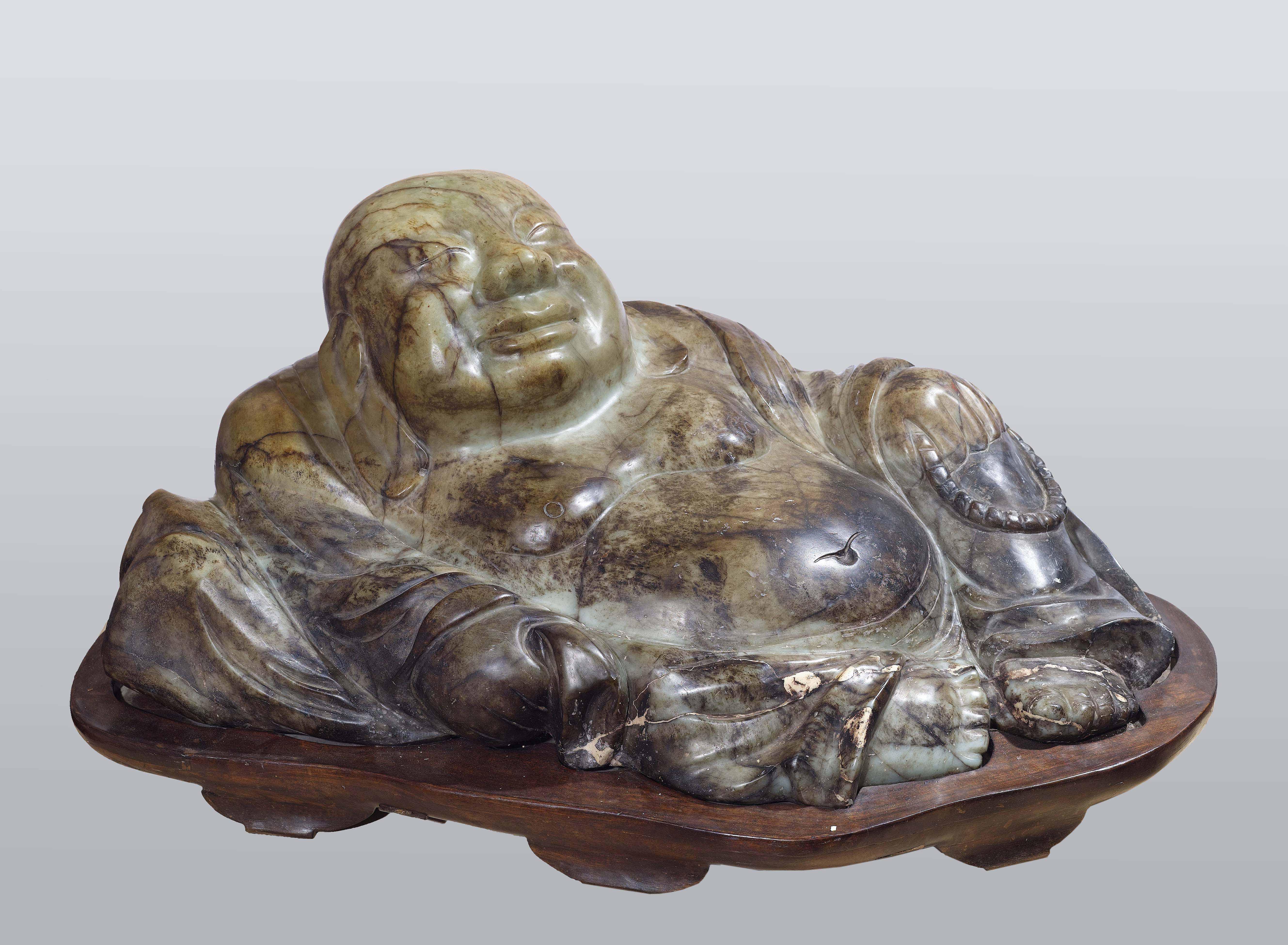 Buddha in giada