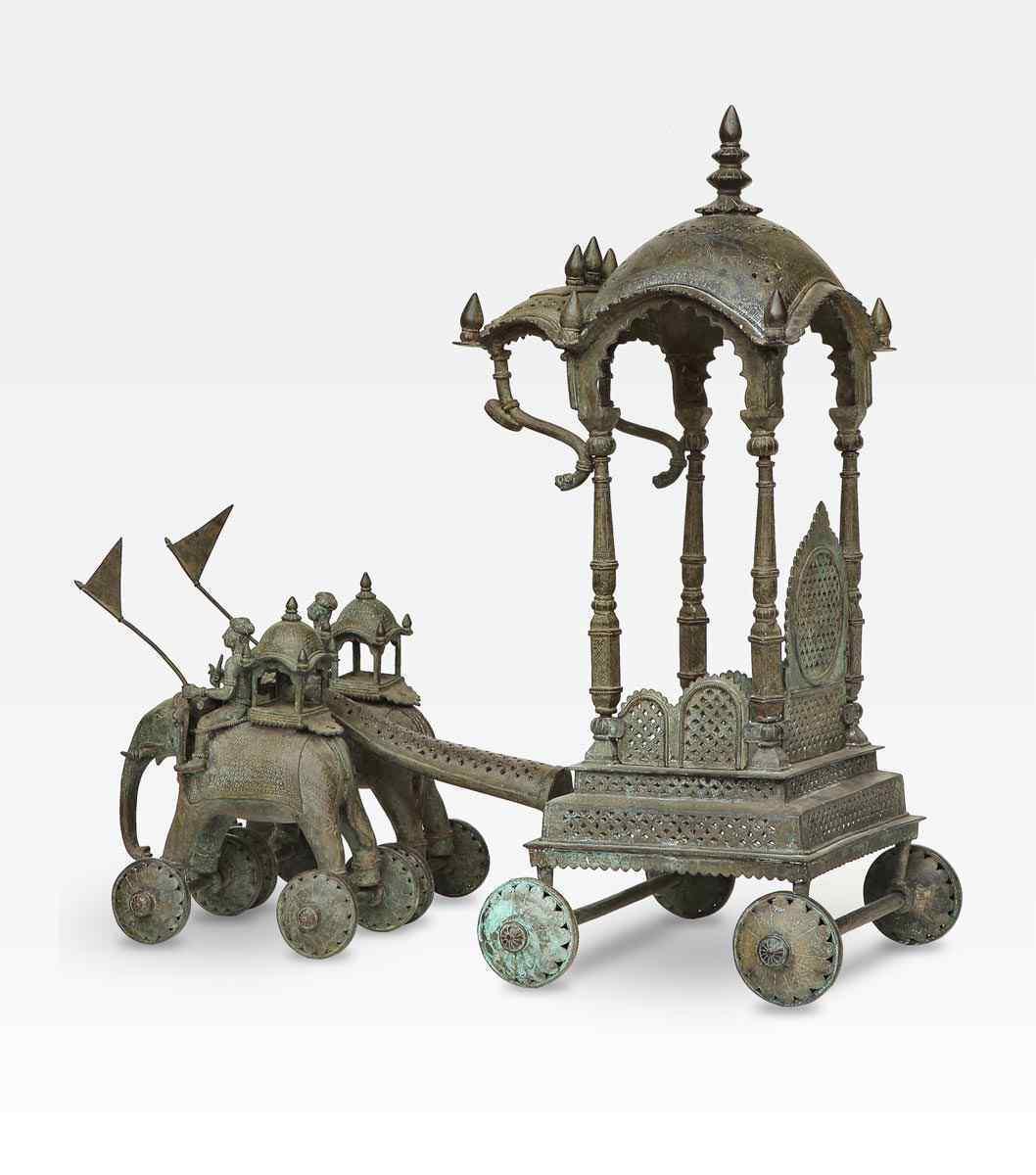 Scultura bronzo, fusione cera persa, periodo Mughal
