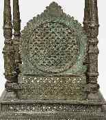 Scultura bronzo, fusione cera persa, periodo Mughal-0
