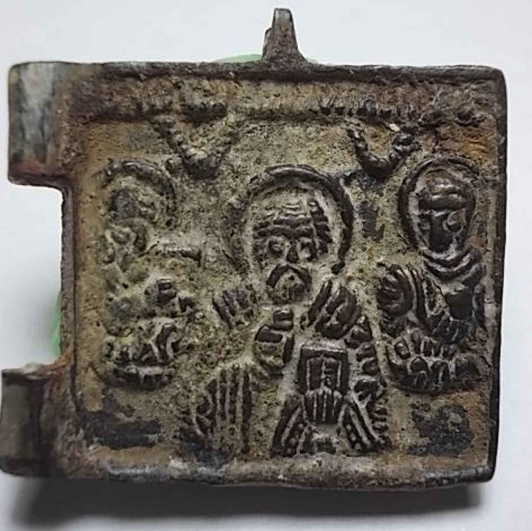 icona medievale - bronzo