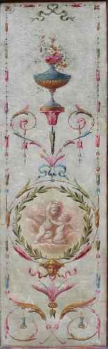 Dix-neuvième siècle, ECRAN grotesque, (5) Huile sur toile-3