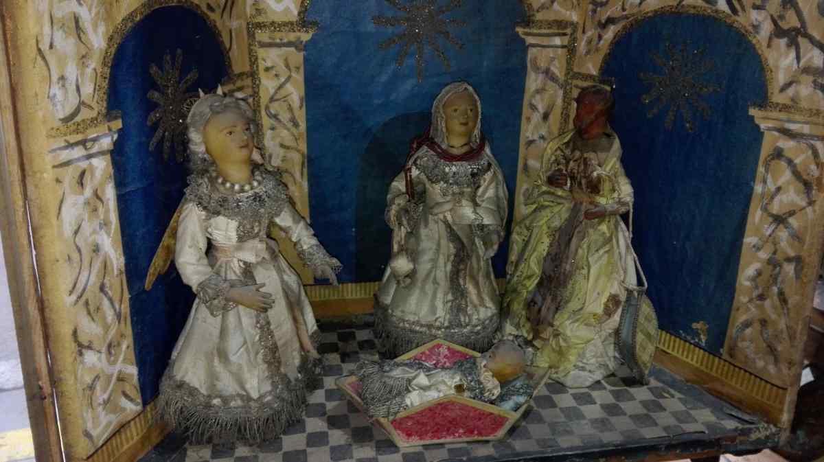 Personaggi in cartone antico - XVIII secolo