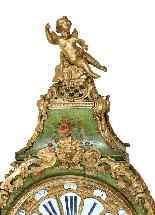 Cartel di epoca Luigi XV - Firmato CHAPO à Paris-1