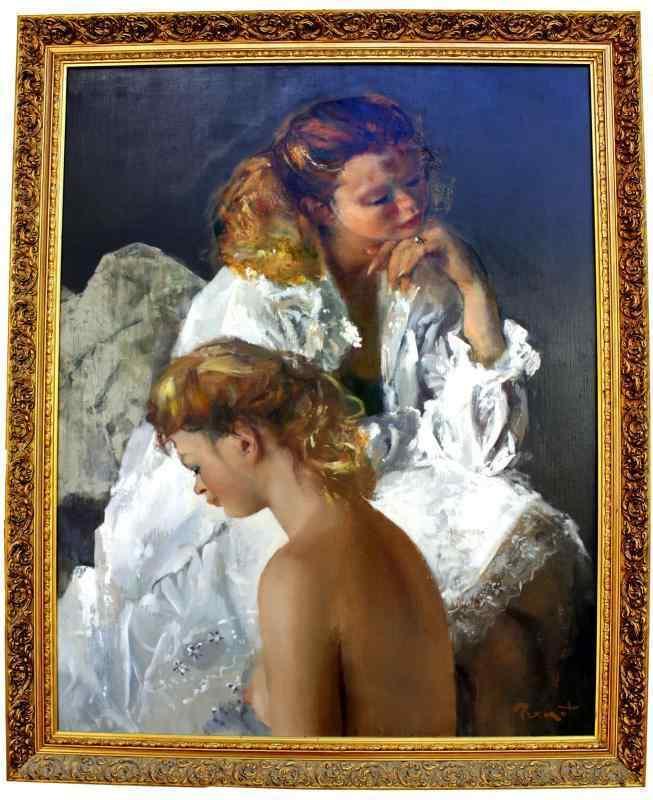 quadro di Pierre BRENOT 1913-1998