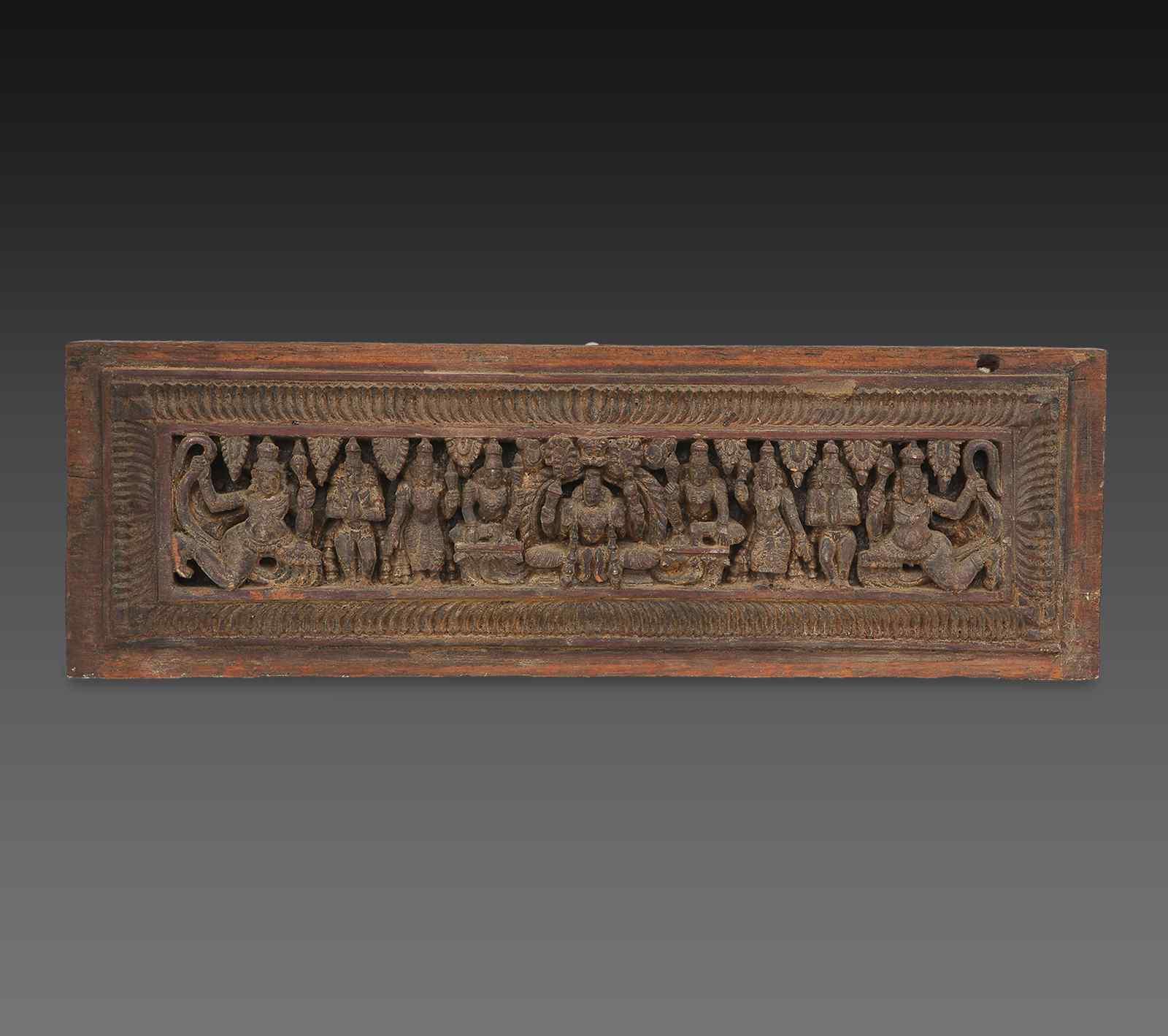 Antico pannello  XVII secolo India