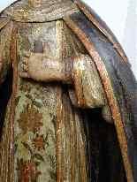 Античная важно Статуя Святого семнадцатой резного дерева-2