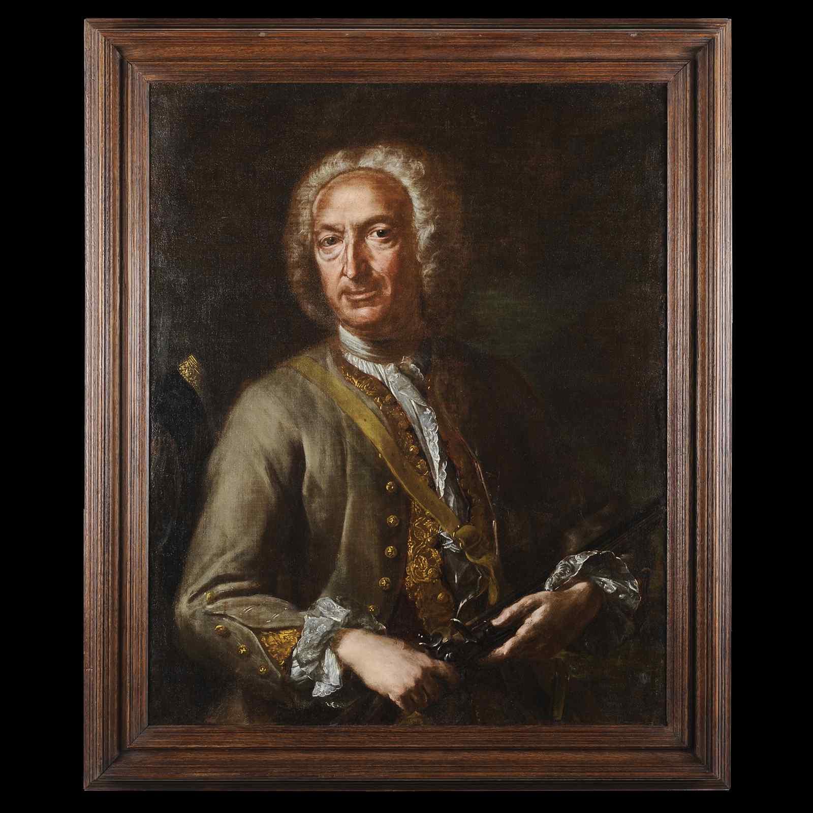 Карло Амальфи (1707-1787) - Портрет охотника